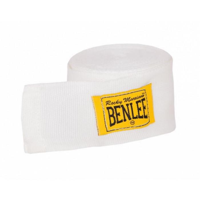 Боксерские бинты Benlee Elastic (195002/7000) White 3 м